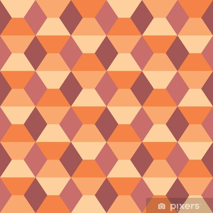 Sticker Pixerstick Seamless géométrique. - Abstrait