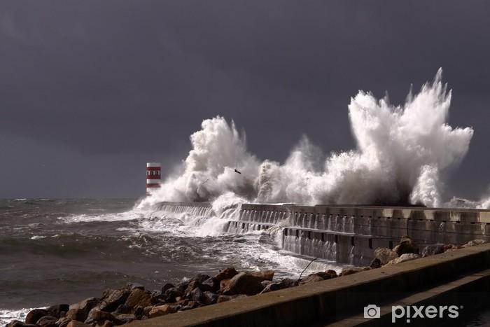 Fotomural Estándar Olas tempestuosas - Temas