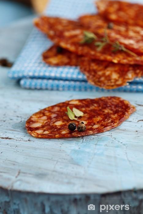 salami Pixerstick Sticker - Meals