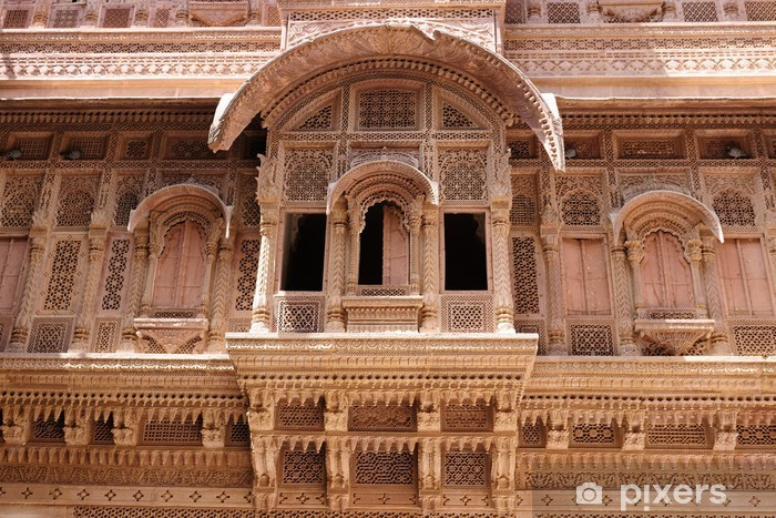 Naklejka Pixerstick Architektura indyjska - Azja
