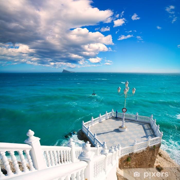 Fototapeta winylowa Balcon del Mediterraneo Benidorm Morze Śródziemne - Europa