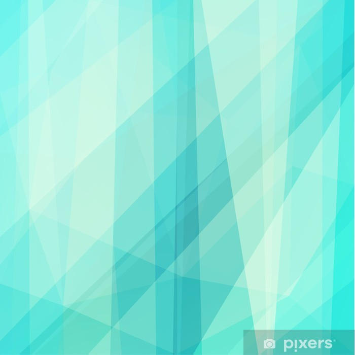 Abstract geometric background Vinyl Wall Mural - Backgrounds