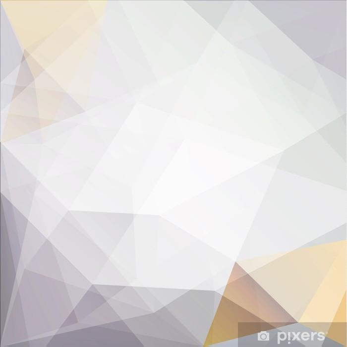 Plakat Tło abstrakcyjne geometryczne trójkąty - Tła