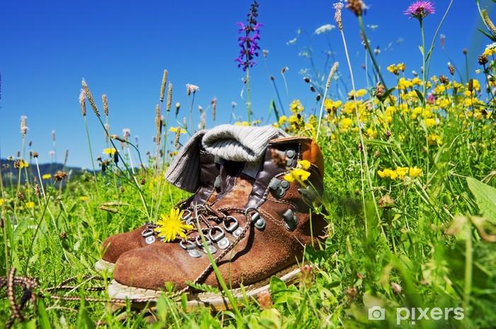 Fototapeta winylowa Turystyka Alpy - Sporty na świeżym powietrzu