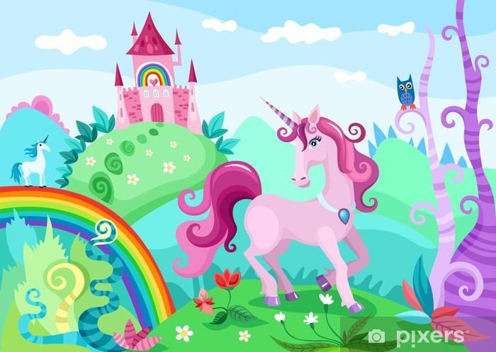 unicorn Pixerstick Sticker - Themes