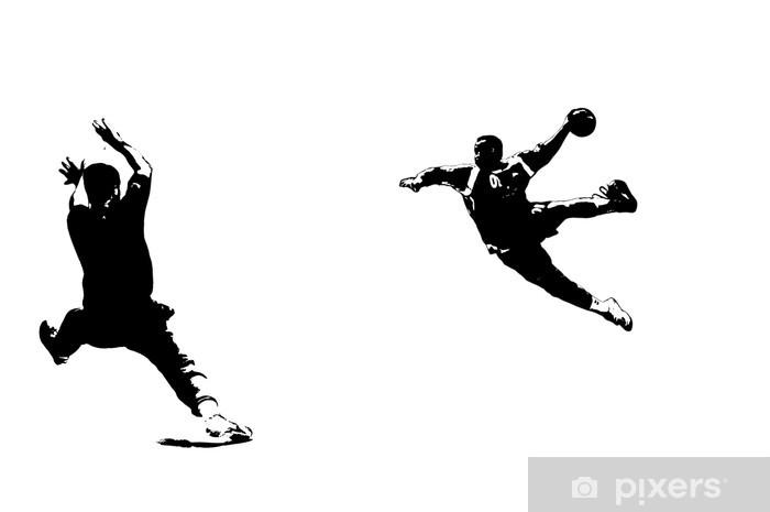 Klesskapklistremerke Handballdynamik - Lagidrett