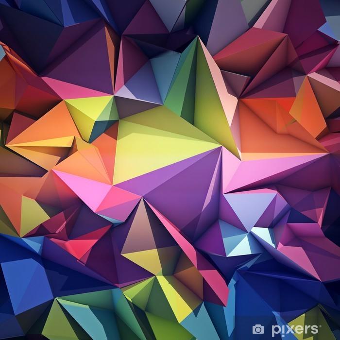 Naklejka Pixerstick Abstrakcyjne geometryczne tle -