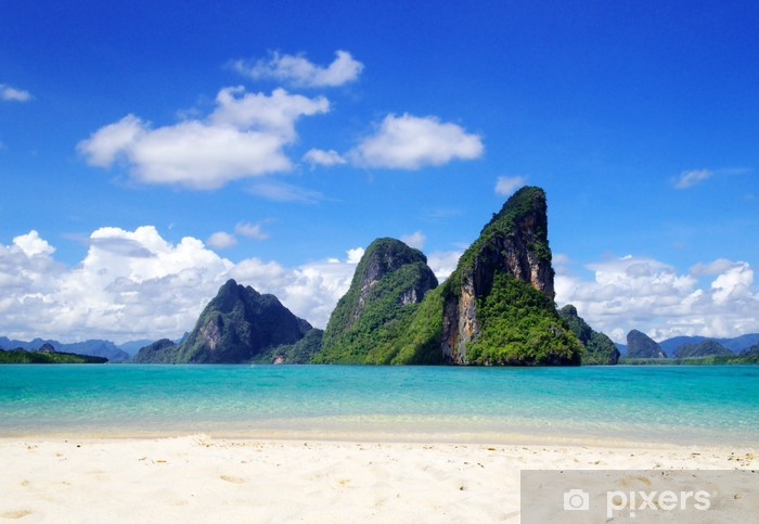 Fototapeta winylowa Morze - Wyspy