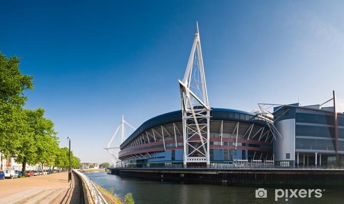 Naklejka Pixerstick Cardiff Odsłon - Europa