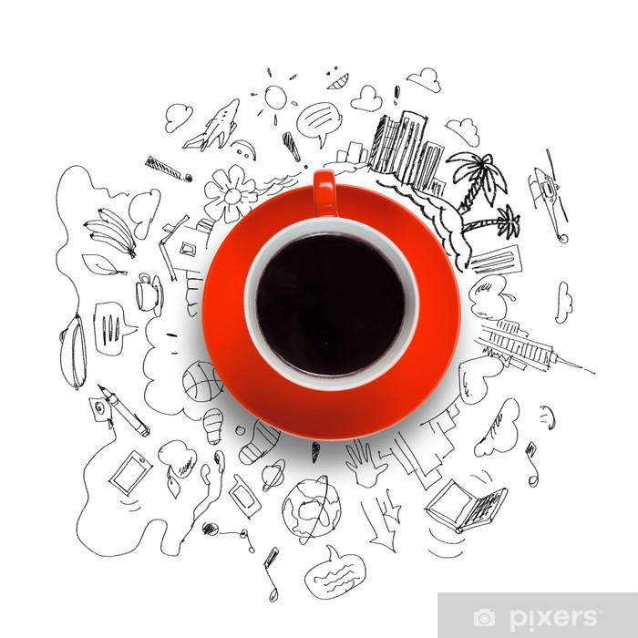 Papier peint vinyle Coffee time - Situations