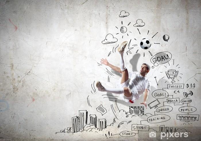 Fototapeta winylowa Strategia gry - Sporty drużynowe