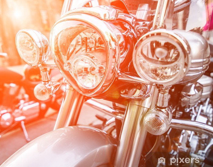 Fototapeta winylowa Lekki motocykl - Tematy