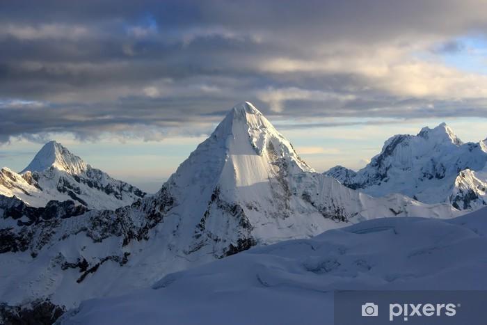 Vinyl-Fototapete Gipfel - Berge