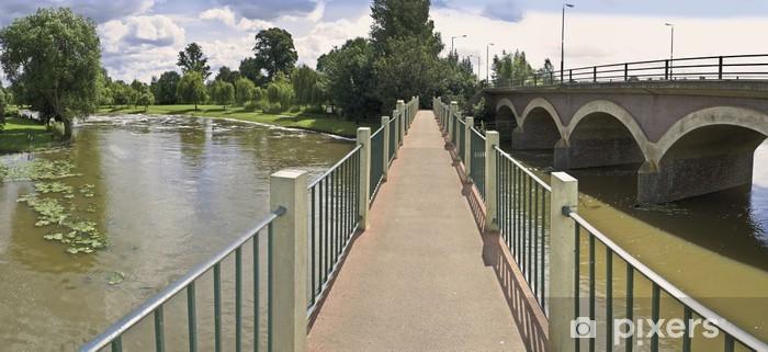 Papier peint vinyle Avon rivière Stratford-upon-Avon Angleterre Royaume-Uni - Vacances
