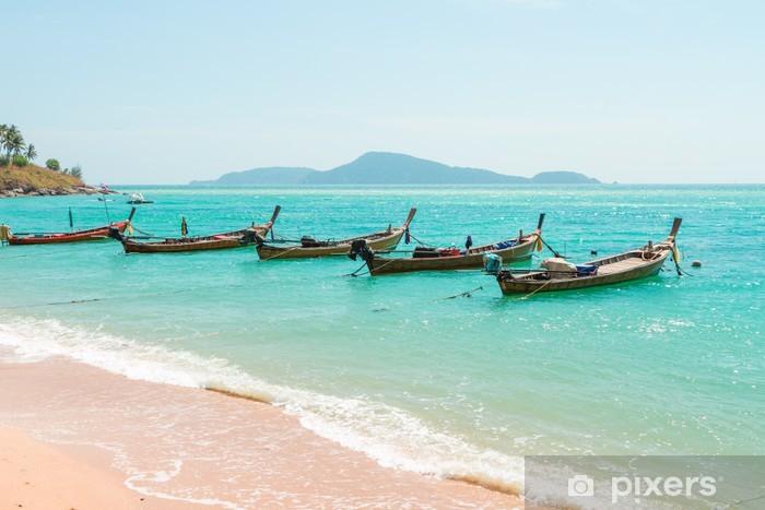 Naklejka Pixerstick Egzotyczne Zatoka Patong w Phuket wyspie - Azja