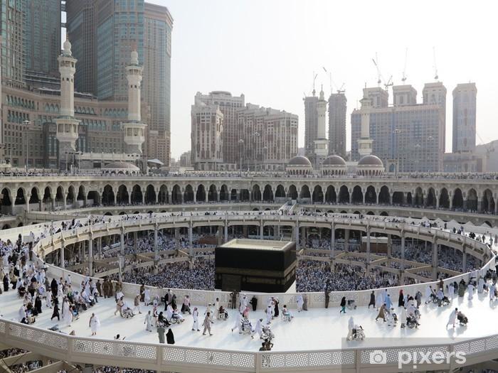 Pixerstick Sticker Reis naar Hadj in Mekka 2013 - Religie
