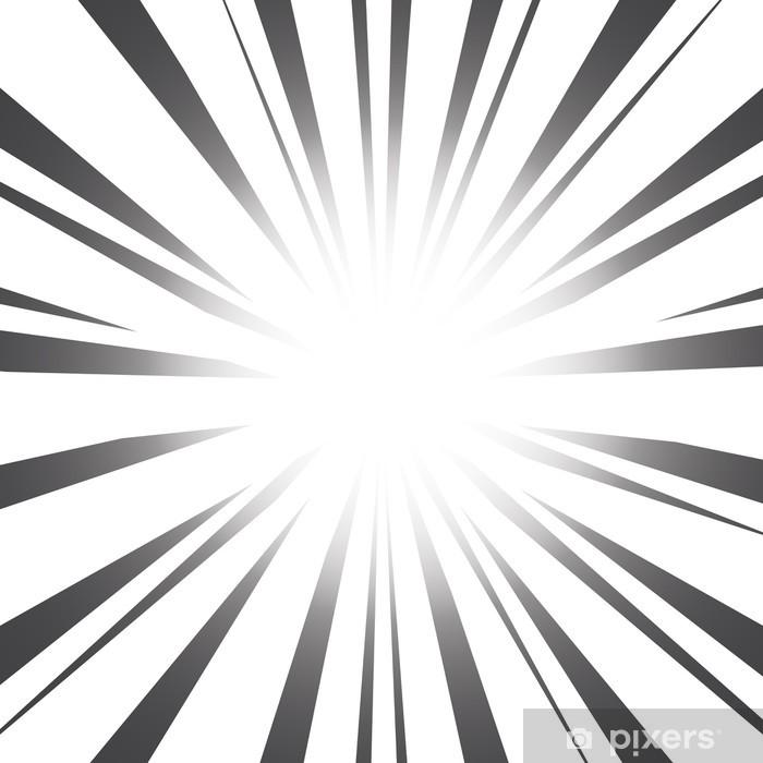 Fotomural Estándar Radial Speed Lines efectos gráficos - Abstractos