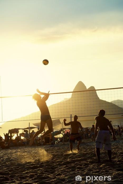 Fototapeta zmywalna Brazylijczycy siatkówka Rio de Janeiro brazylijski Zachód - Siatkówka