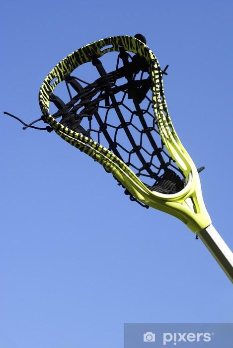 Vinilo Pixerstick Palo de lacrosse en el cielo - Deportes de equipo