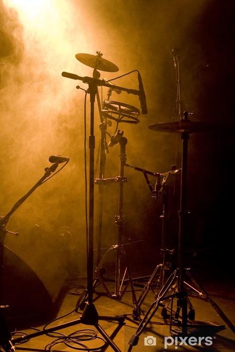 Fototapeta winylowa Muzyka i instrumenty perkusyjne - koncert Atmosphere - Muzyka