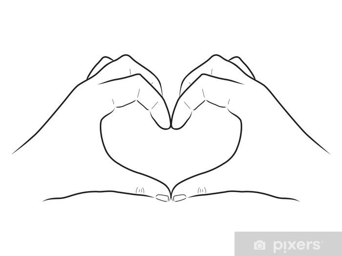 Dibujo De Corazon En Manos Wwwimagenesmycom