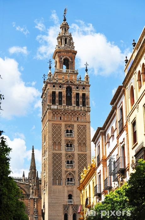Fotomural Torre de la Giralda de Sevilla, Andalucía ...