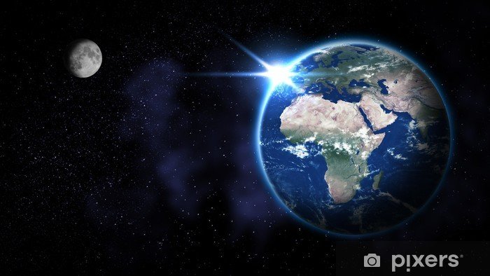 Fototapeta winylowa Earth from space - Ziemia