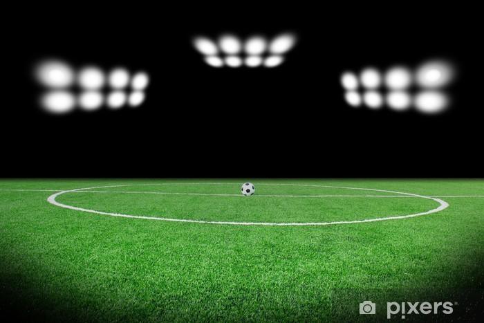 Seamless Vinyl Photography Backdrop Football Stadium Match: Football, Stadium, Soccer, Field, Background, Crowd