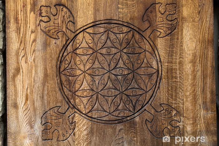 Papier peint vinyle La fleur de la vie - un ancien symbole de la géométrie sacrée - Esotérisme