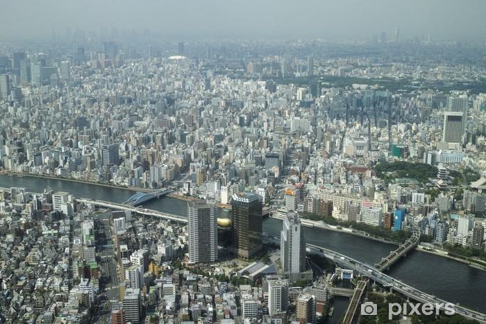 Fototapeta winylowa Tokyo Sky View Sensoji - Miasta azjatyckie