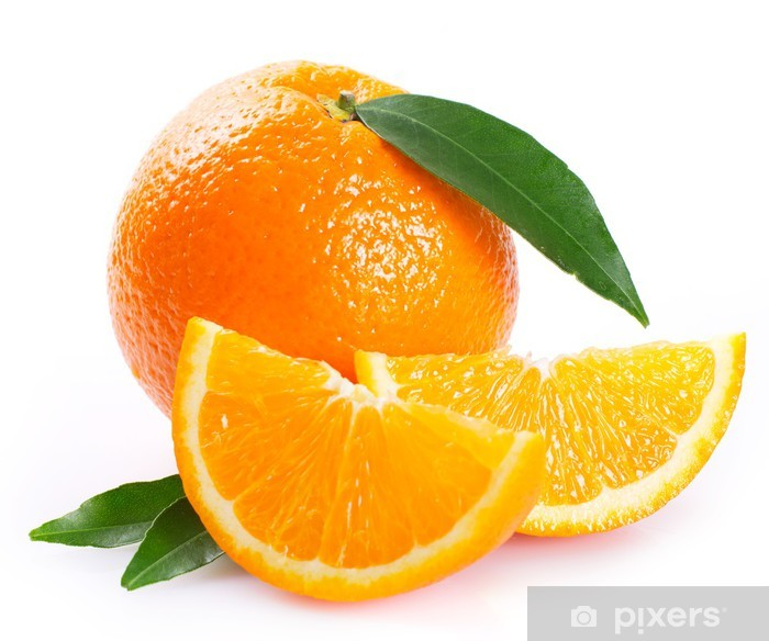 Fototapeta winylowa Świeżych pomarańczy - Naklejki na ścianę