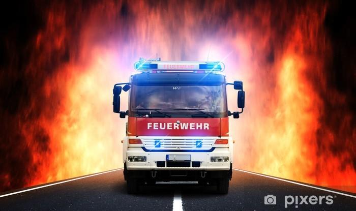 Pixerstick Sticker Feuerwehr-Anfahrt - Beroepen