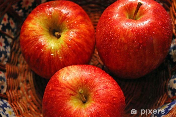 Vinil Duvar Resmi Manzanas - Yemekler