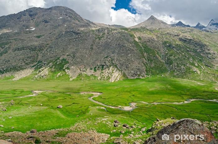 Nálepka Pixerstick Národní park Gran Paradiso, Colle del Nivolet, Itálie - Evropa