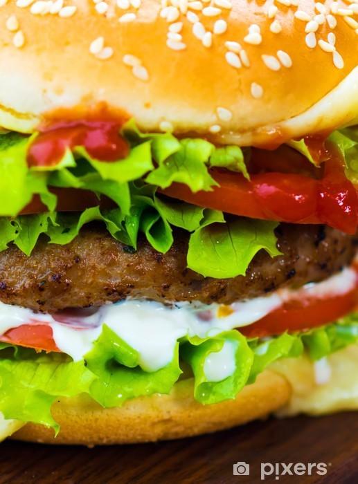 Papier peint vinyle Burger - Thèmes