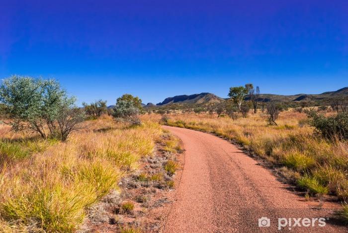 Sticker Pixerstick Australia outback - Océanie