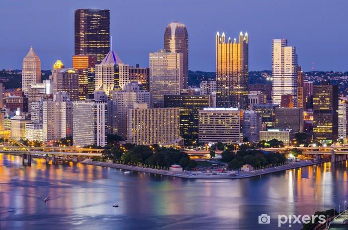Papier peint vinyle Pittsburgh, Pennsylvanie - Amérique