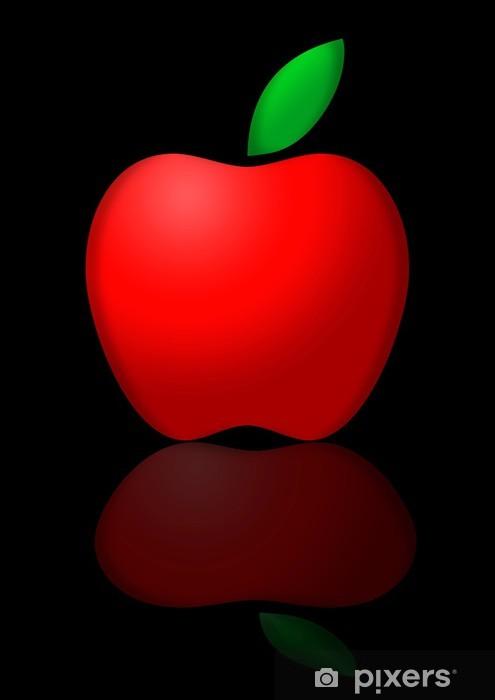 Vinyl-Fototapete Roten Apfel - Früchte
