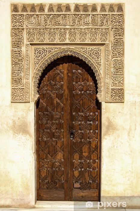 Fototapeta winylowa Drzwi w stylu arabskich - Europa