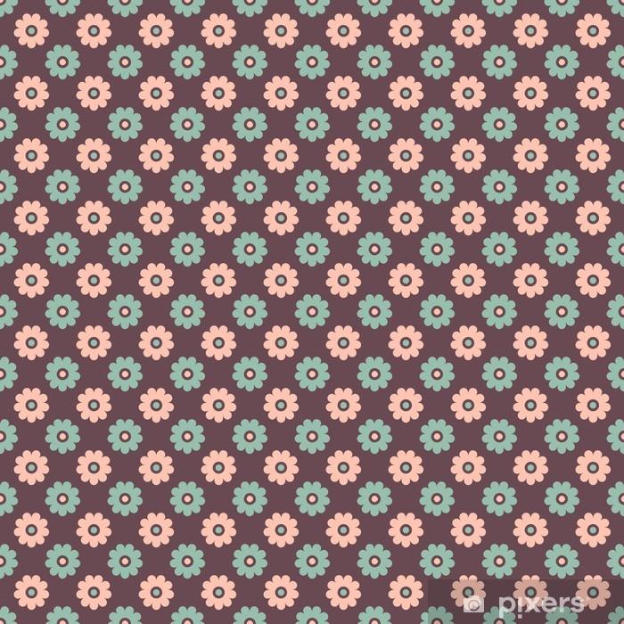 Fototapete Elegante Romantische Nahtlose Muster Fliesen Retro
