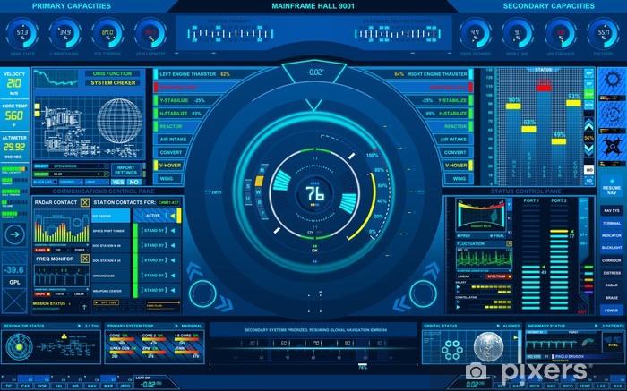Naklejka Pixerstick Minframe - Przestrzeń kosmiczna