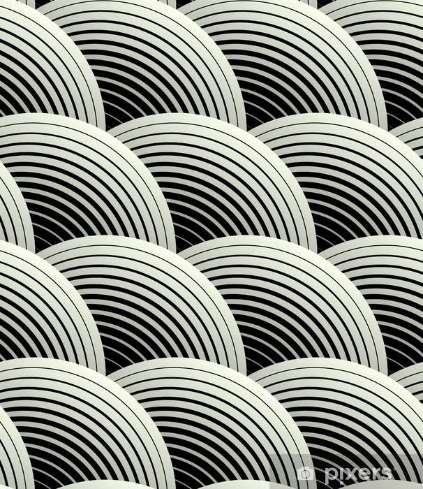 Fototapeta samoprzylepna Ozdobny płatki siatki geometryczne, abstrakcyjne wektor powtarzalne - Tematy