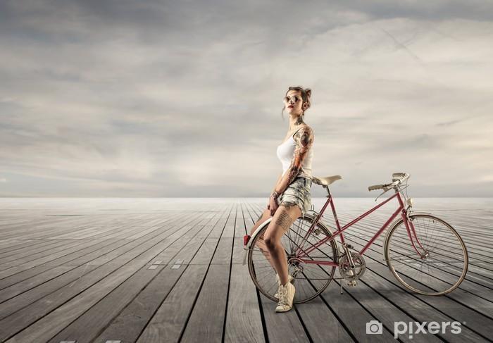 Naklejka Pixerstick Alternatywą rowerowa - Rolnictwo