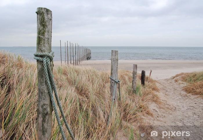Fotomural Estándar Camino a la playa - Destinos