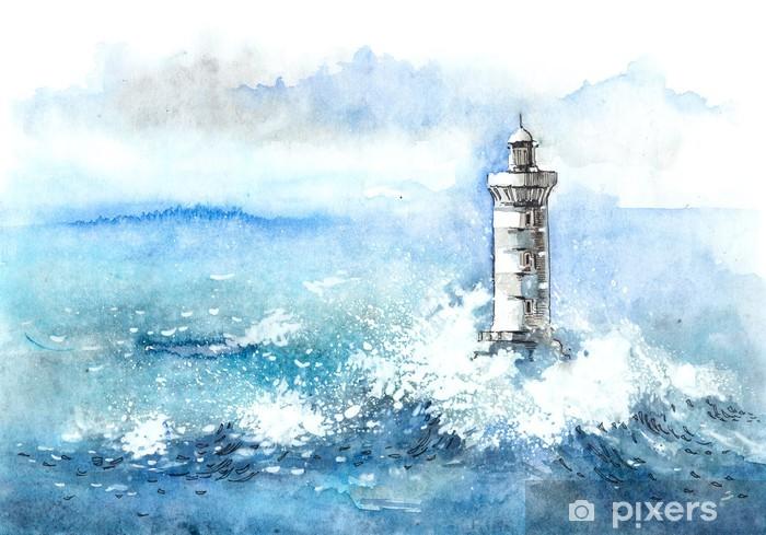 Vinyl Fotobehang Lighthouse - Vuurtoren
