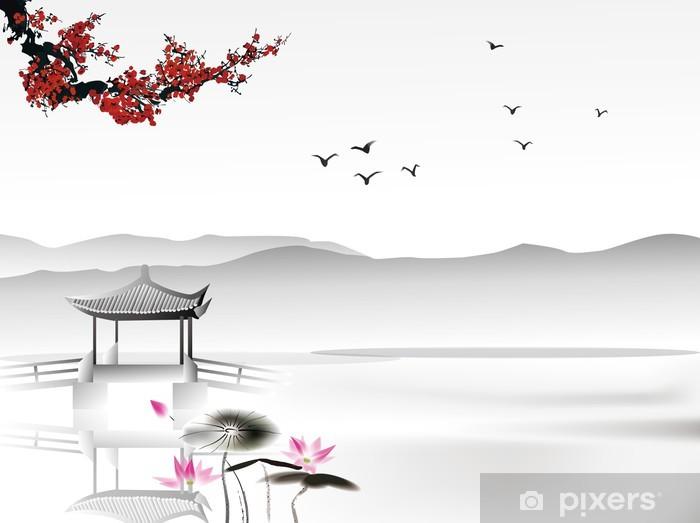 Fototapeta winylowa Chińskich malowanie - Style