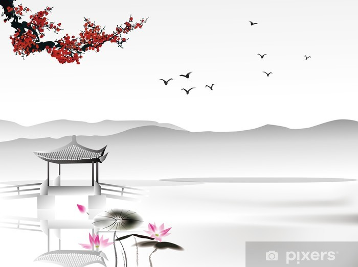 Chinese painting Vinyl Wall Mural - Styles