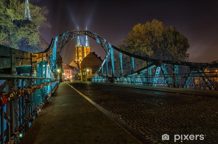 Papier peint vinyle Les amateurs de bridge Wroclaw - Thèmes