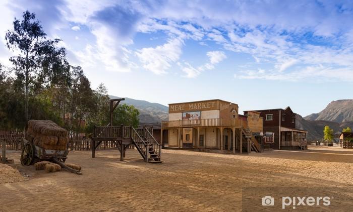 8e4801cb0 Fototapeta winylowa Mini Hollywood Western Town Almeria Andaluzja Hiszpania