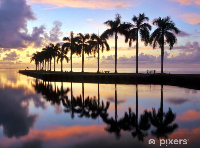 Fototapeta winylowa Miami Wschód - Niebo